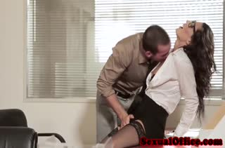 Пошлое порно видео снятое на работе посреди дня №3473